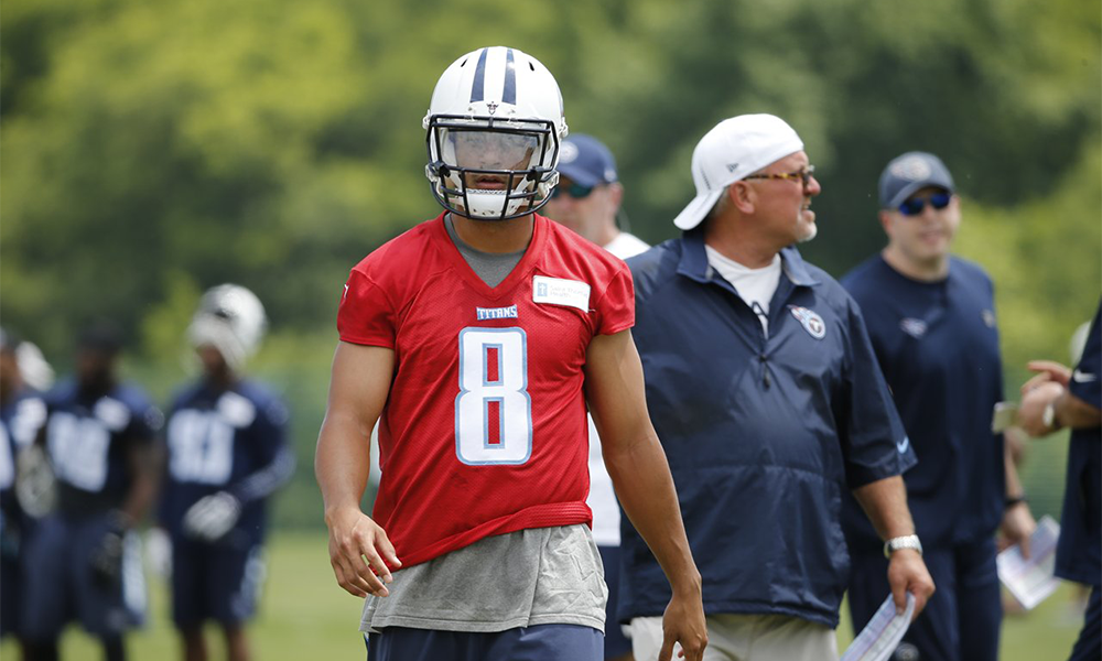 What To Expect From Marcus Mariota Week 7 practice
