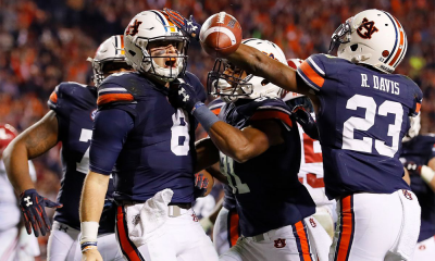 Auburn Beats Alabama 26-14 Cover