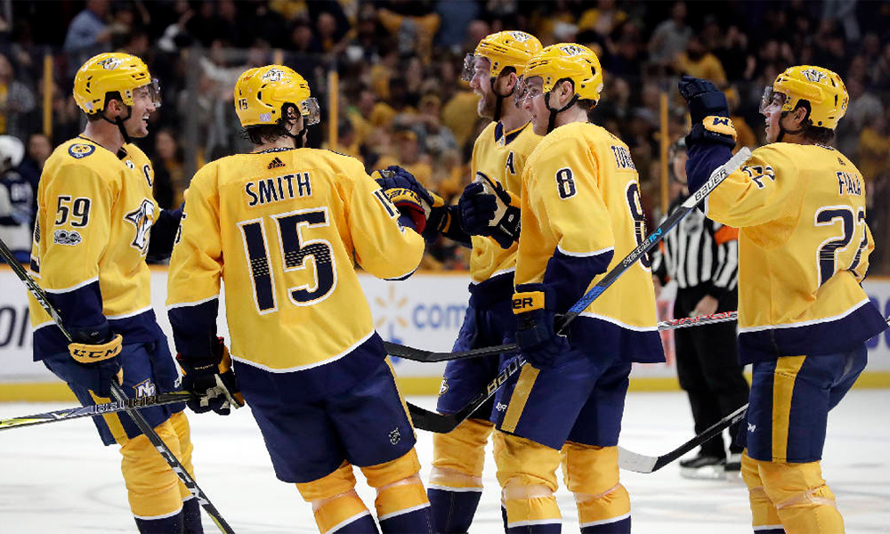 Predators Fly Past Jets 5-3 End