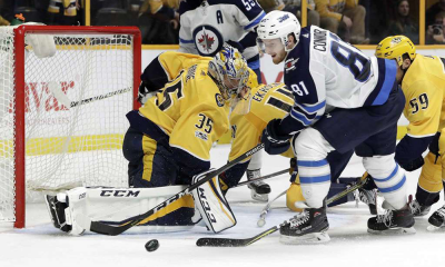 Predators Fly Past Jets 5-3 Rinne