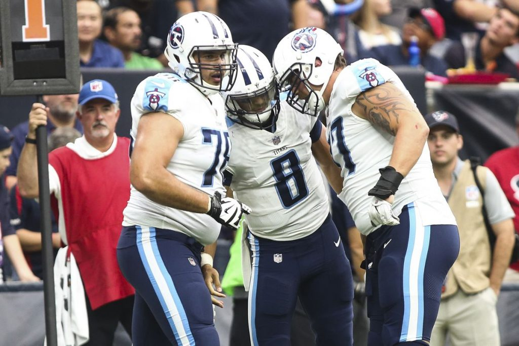 Titans Week 10 Projection Preview Mariota