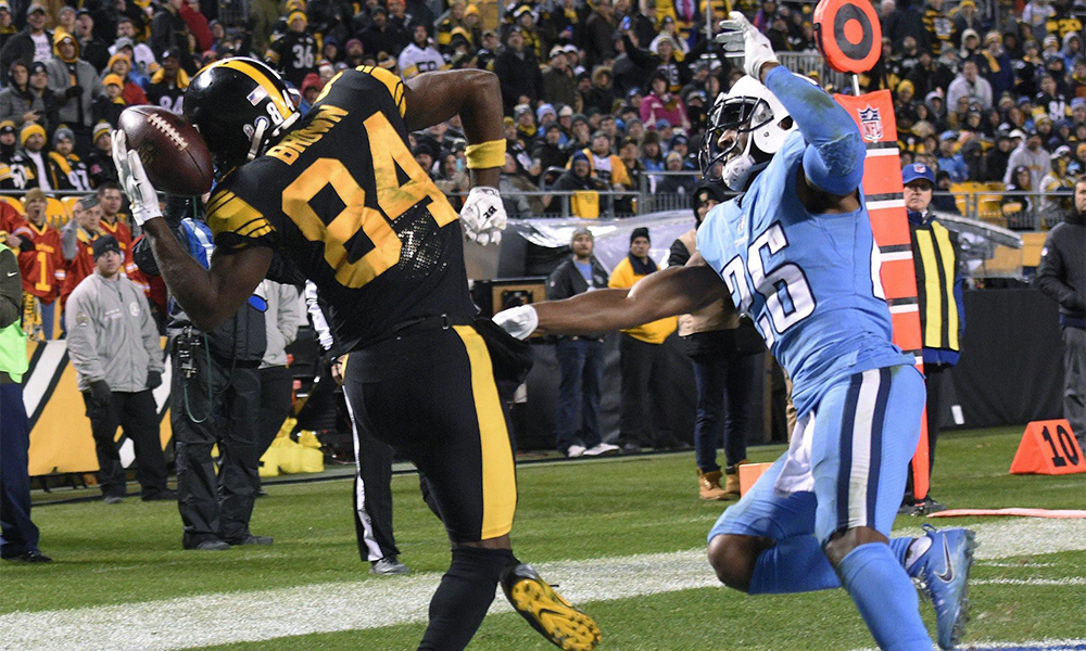 Titans Wheels Come Off In 40-17 Loss To Steelers Brown