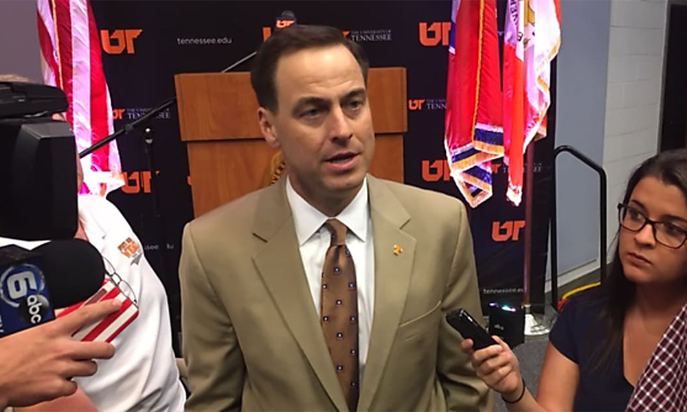 UT Vols AD John Currie Backlash And Statement