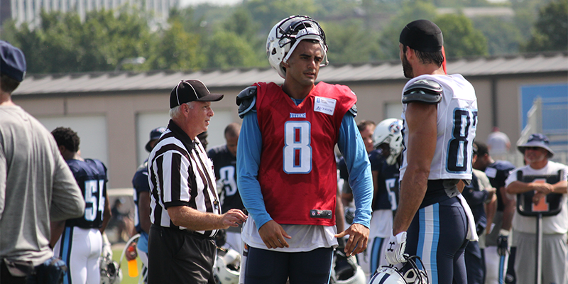 Whats Changed For Marcus Mariota Practice