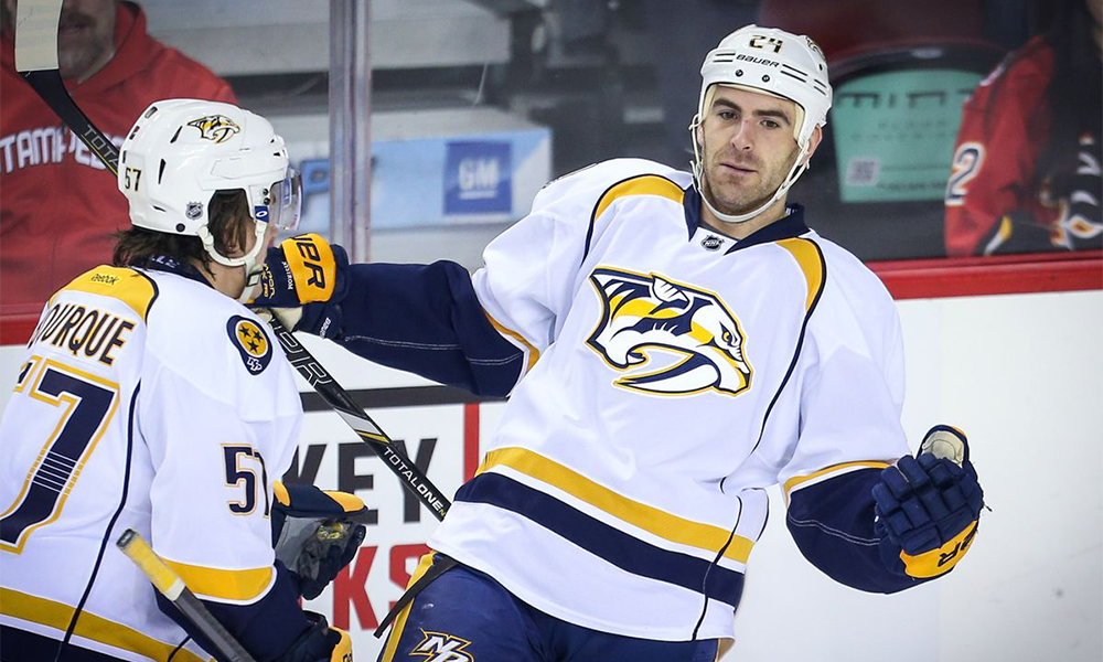 Former Nashville Predators Forward Eric Nystrom Suing Preds What