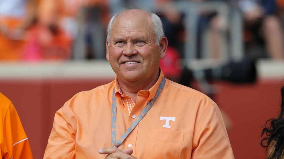 Phillip Fulmer New Acting Director Tennessee Orange