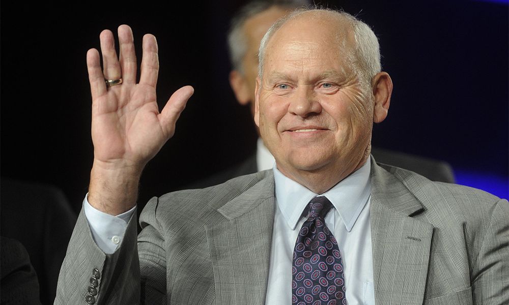 Phillip Fulmer New Acting Director Tennessee Cover