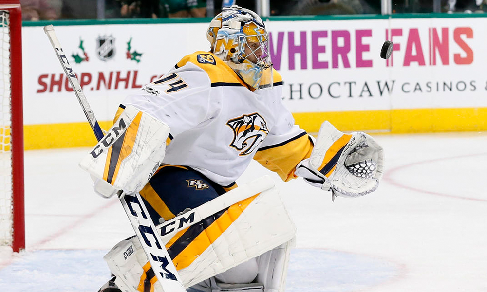 Predators Take First In Western Conference Saros
