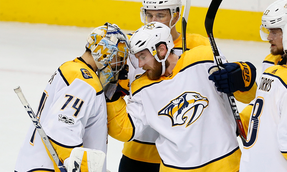 Predators Take First In Western Conference Win