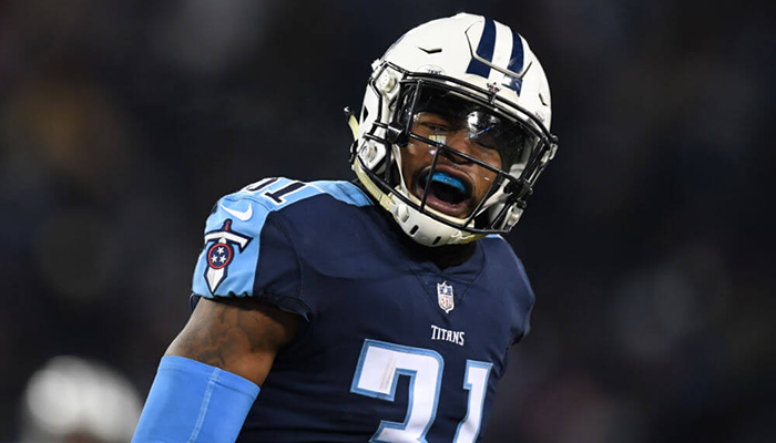 Game Day-Titans Versus Patriots Byard
