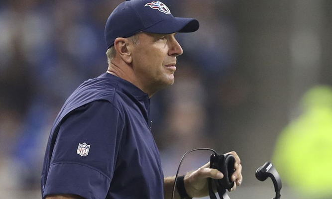 Titans Fire Head Coach Mike Mularkey Sidelines