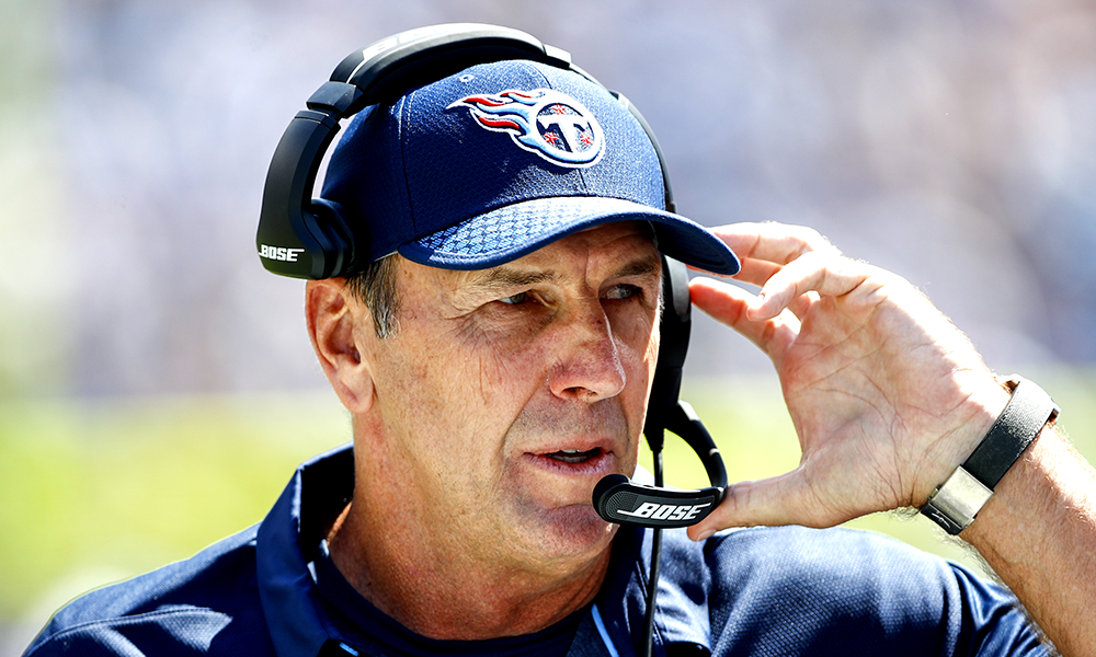 Titans Fire Head Coach Mike Mularkey