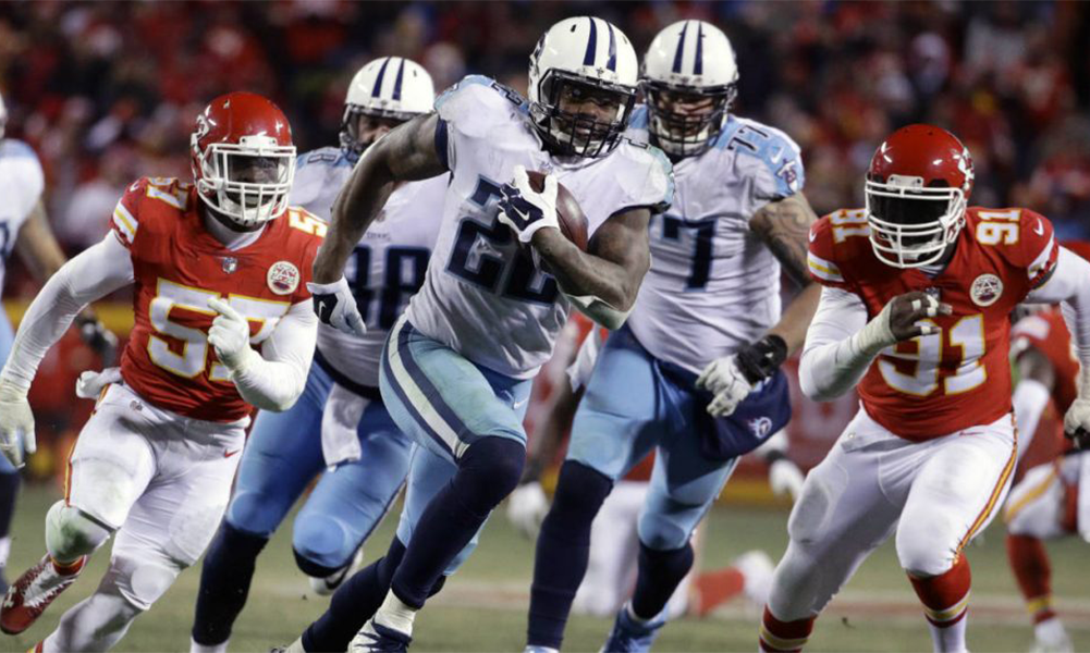 Titans March On-Defeat Chiefs 22-21