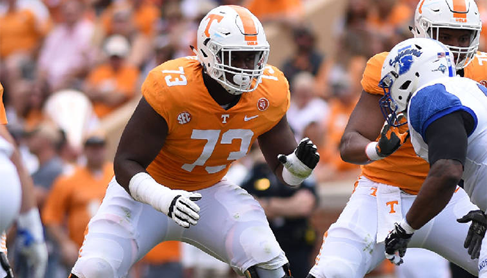 Trey Smith Receives Freshman All-American Honors Field