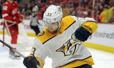 Predators Edge Red Wings 3-2