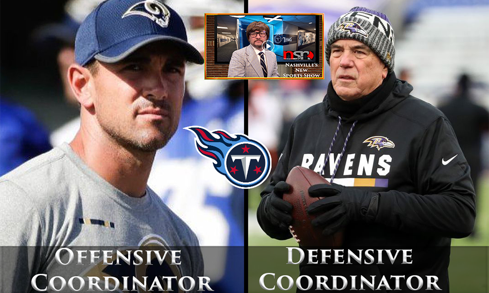 Tennessee Titans Hire New Coordinators