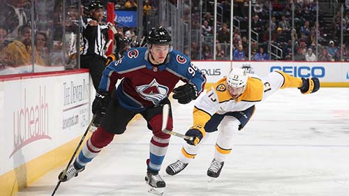 Avalanche Defeat Predators 5-3 Game 3 Nashville