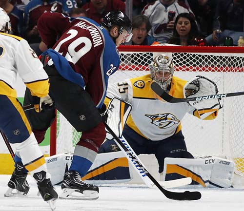 Avalanche Defeat Predators 5-3 Game 3 Pekka