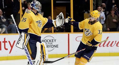 Predators Head To Colorado Pekka