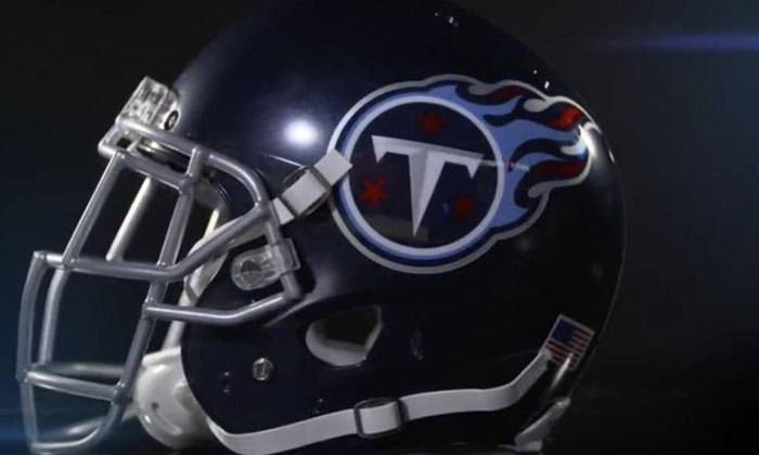 Tennessee Titans New Uniforms Helmet