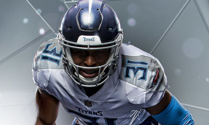 Tennessee Titans New Uniforms White