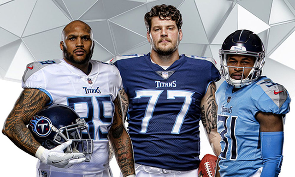 Tennessee Titans New Uniforms